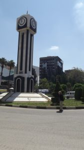 Photo of clock in Homs