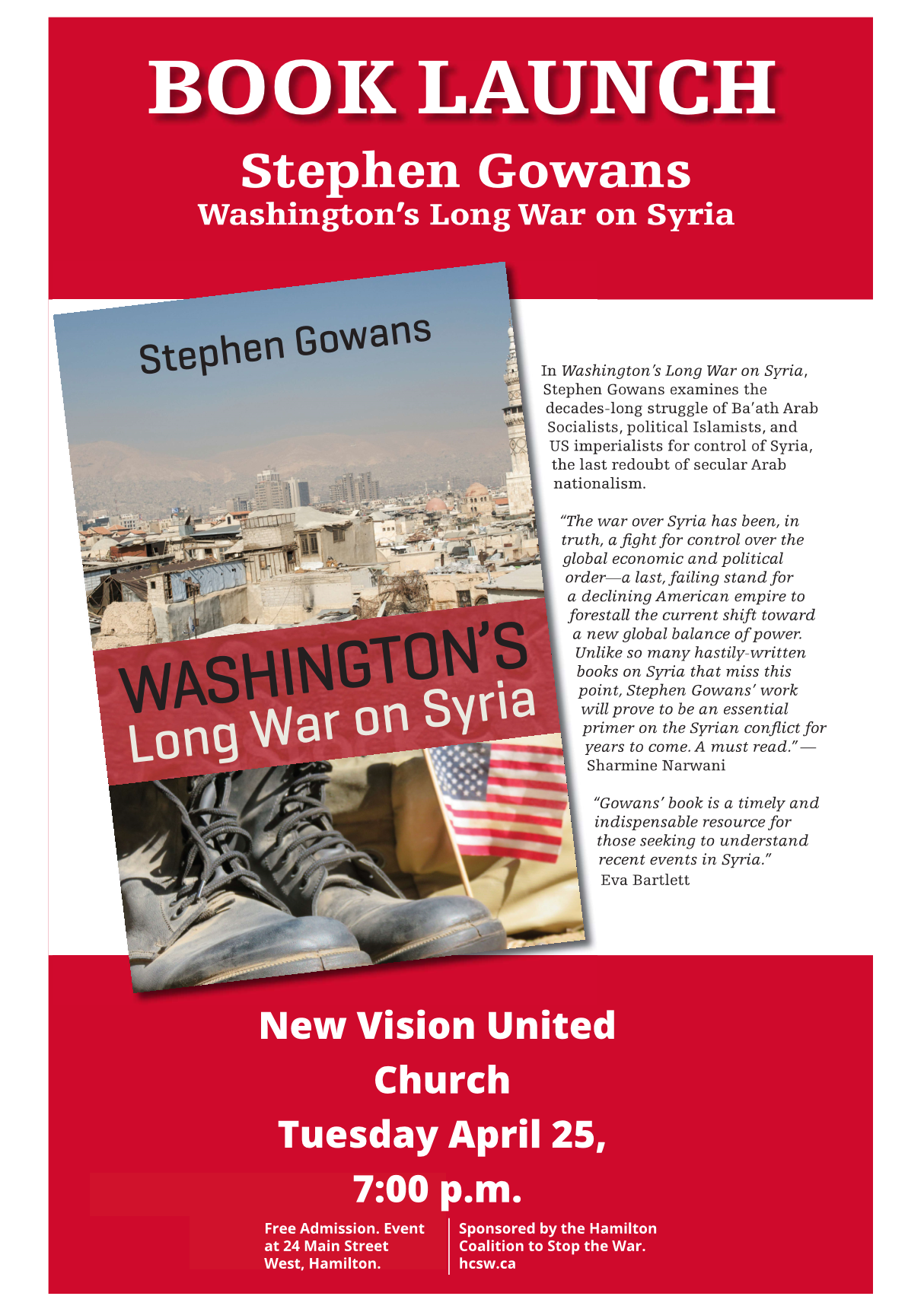 Poster for Washington's Long War on Syria