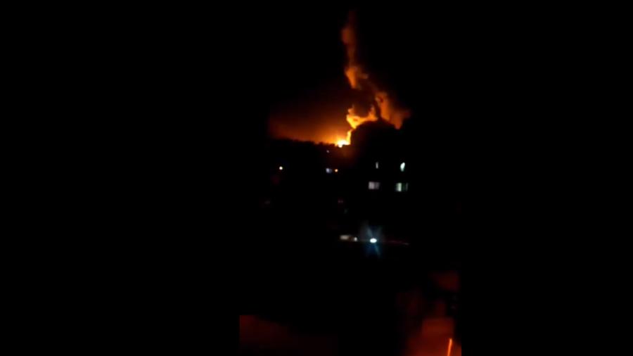 U.S. missile strike on Damascus