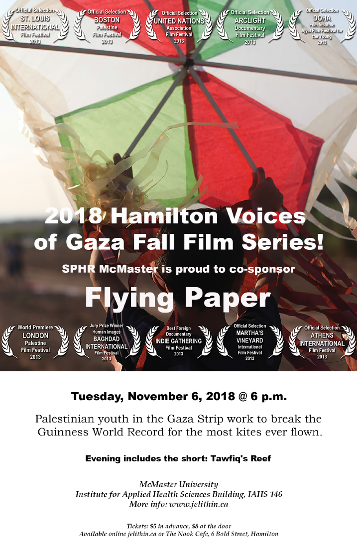 """Poster for the film, """"Flying Paper."""""""