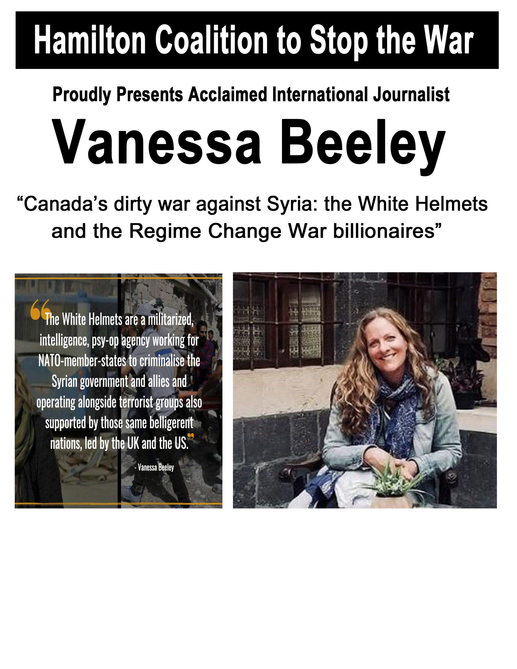 Vanessa Beeley poster #1