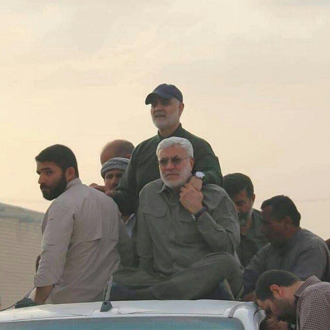 Soleimani and al-Muhandis